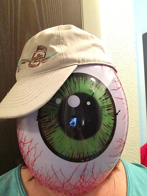 Eyeball Costume