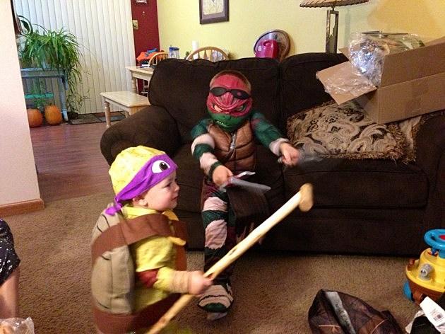 Ninja turtle costumes 2