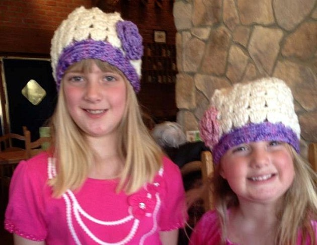 Hats Jenny Crocheted for our little friends