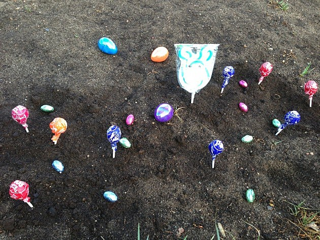 Plant a Candy Garden With Your Children This Easter