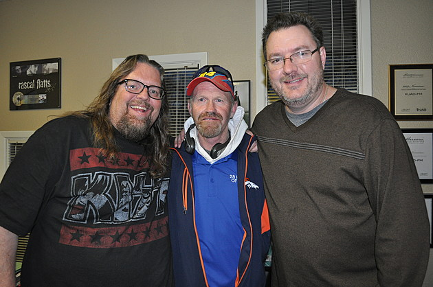 John Jacoby with the Good Morning Guys - Photo by TSM
