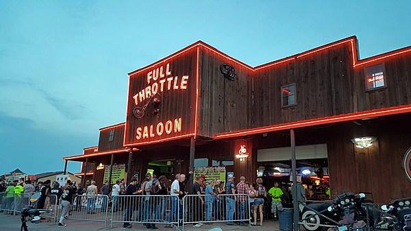 Fire destroys full throttle saloon in sturgis