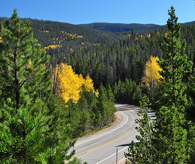 Poudre Canyon West of Fort Collins