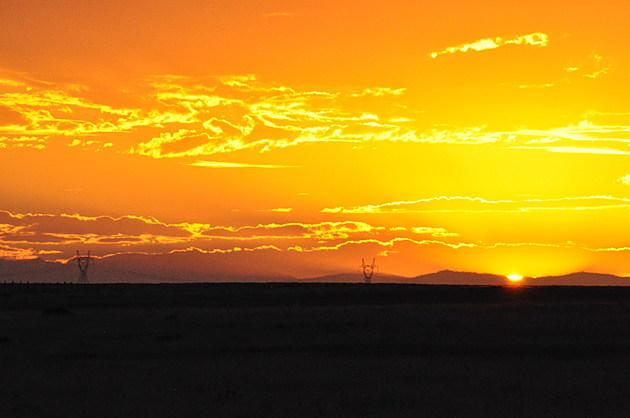 Sunset from Pawnee National Grassland