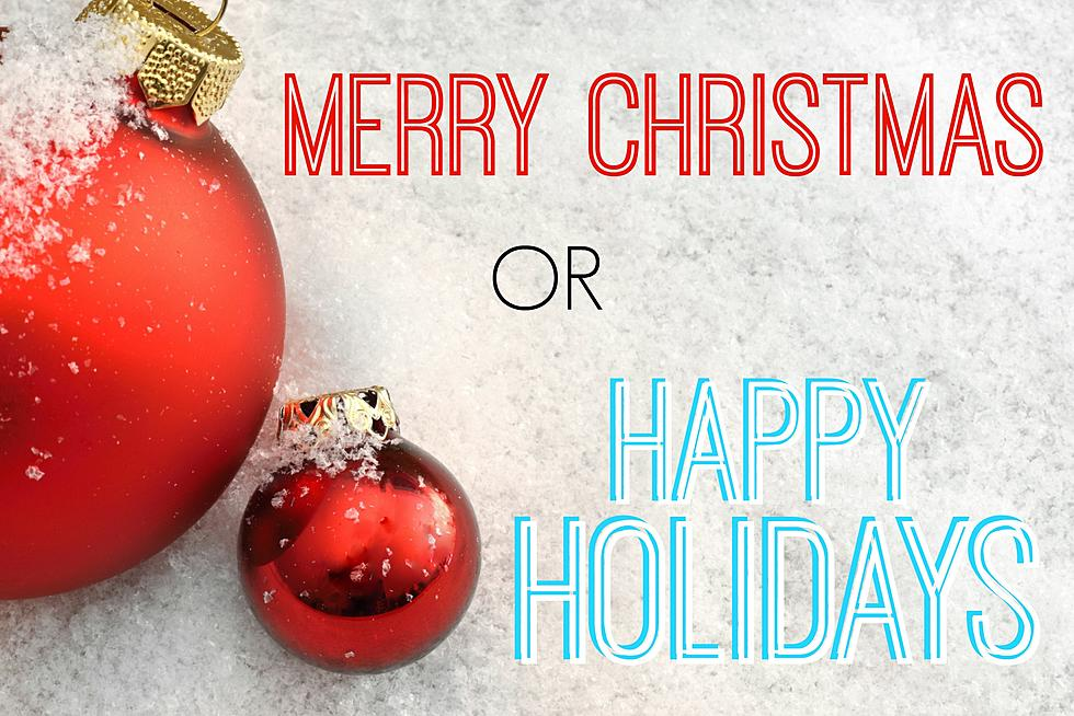 do you say merry christmas or happy holidays poll