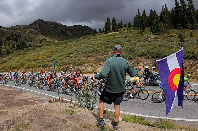 USA Pro Challenge cycling event in Colorado