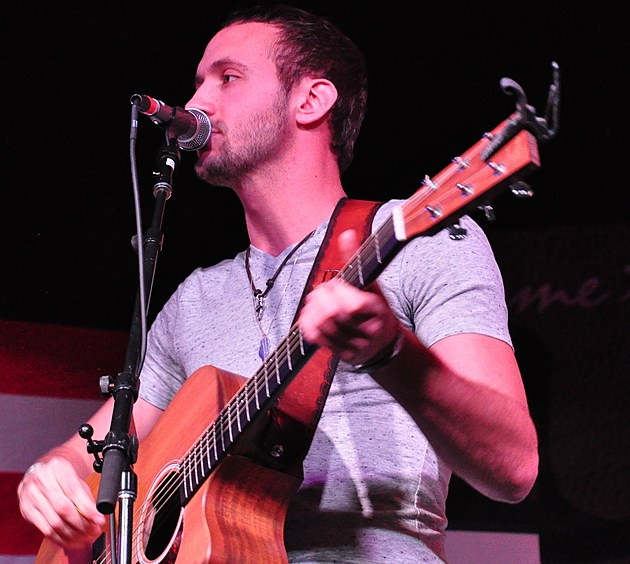 Drew Baldridge at the Boot Grill for New From Nashville