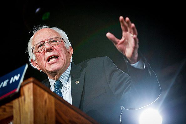 Democratic Presidential Candidate Bernie Sanders (D-VT)  Holds Rally In Denver, Colorado