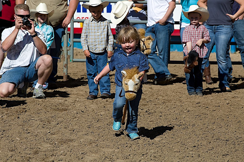 Stick Horse Rodeo at Greeley Stampede