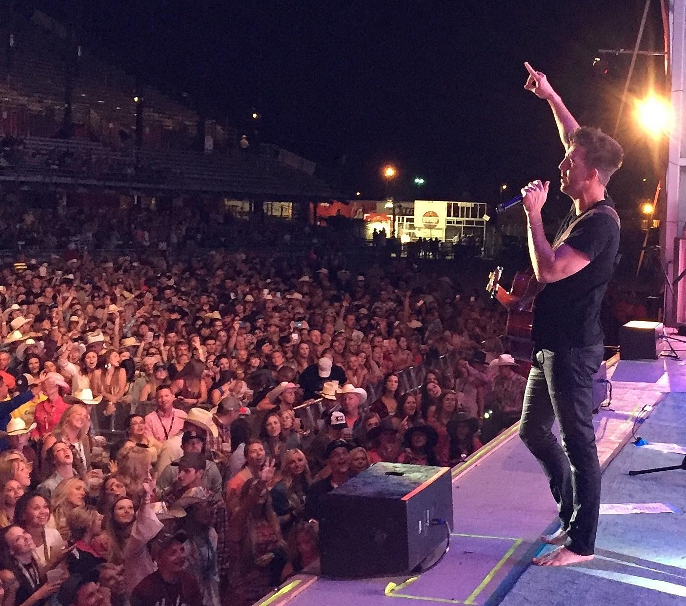 Jake Owen Performs at Cheyenne Frontier Days