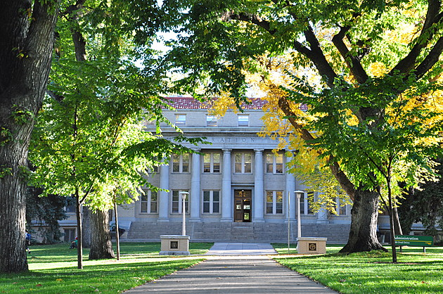 Administration Building on the CSU Oval