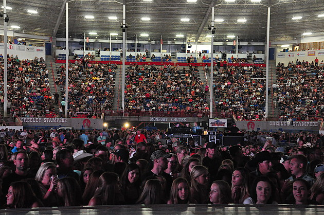 Greeley Stampede Concert Crowd
