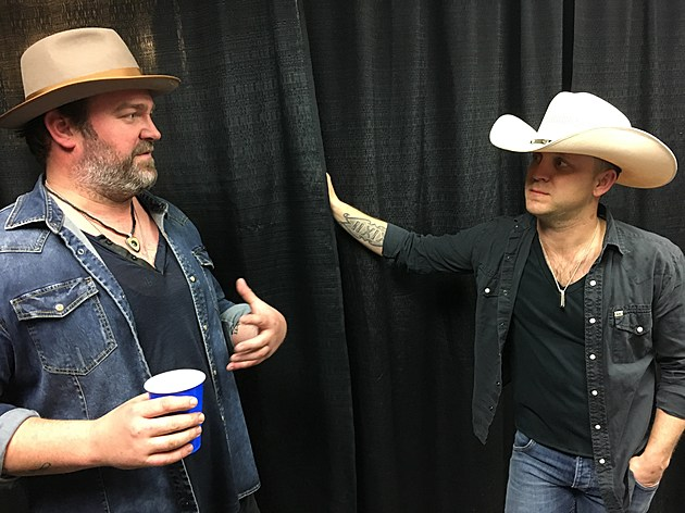 Lee Brice and Justin Moore at Budweiser Events Center