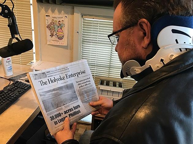 Todd Reads Holyoke Enterprise