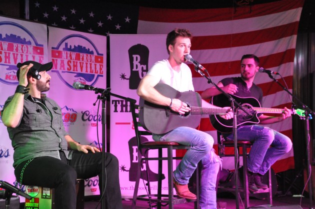 Morgan Wallen at the Boot Grill for New From Nashville