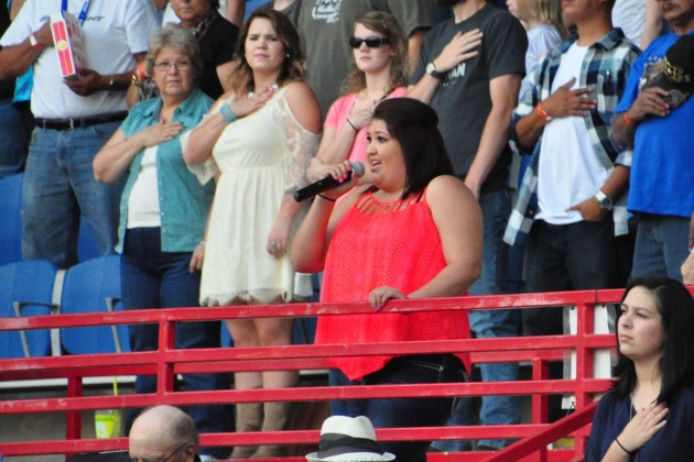 National Anthem at Greeley Stampede Rodeo