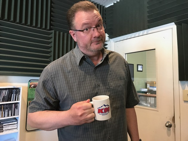 Todd with K99 Coffee Cup