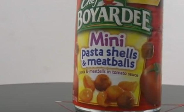 Chef Boyardee Mini Pasta shells & Meatballs