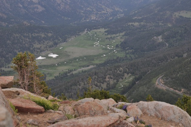 View from Many Parks Curve on Trail Ridge Road