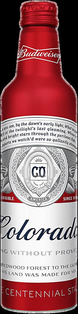 Budweiser Bottle for Colorado