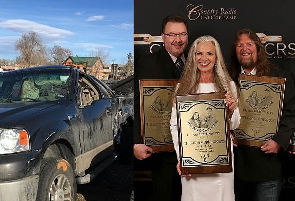 Todd's Wrecked Truck & Todd, Susan, and Brian Hall of Fame Induction