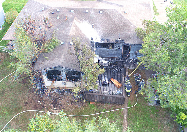 Fire at 1817 Broadview Place in Fort Collins