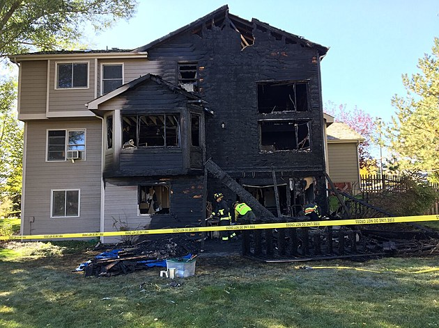 Fort Collins House Fire at 4512 Idledale Drive
