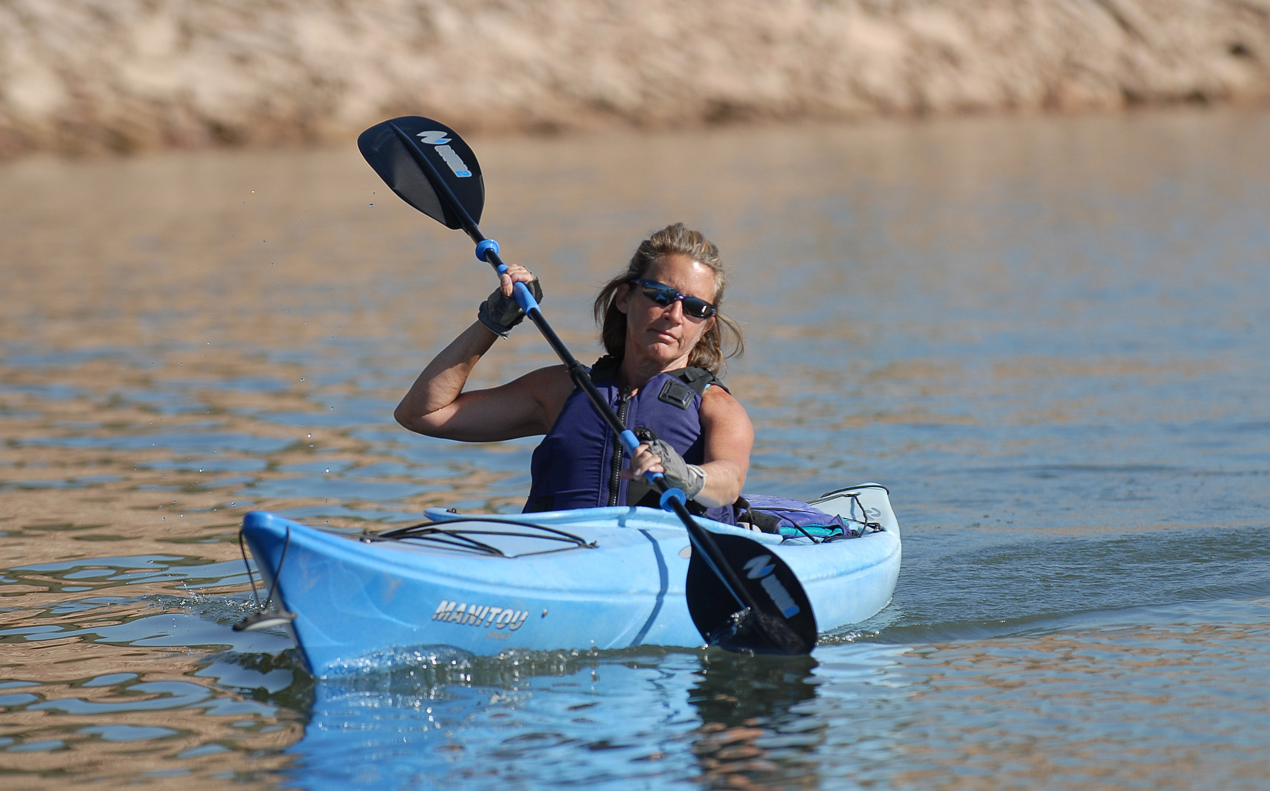 Kayaking on Horsetooth Reservoir